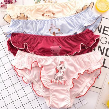 Kawaii Cute Animal Print Panties