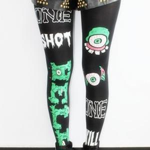 One Shot Hell Harajuku Tights