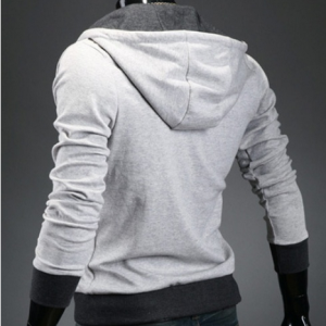 Light Grey Korean Men Slim Fitting ..