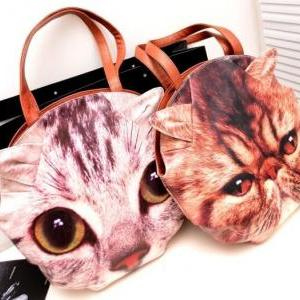 Adorably Kitty Cat Shoulder Bag