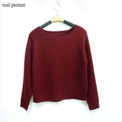 Women Autumn winter pullovers korea..