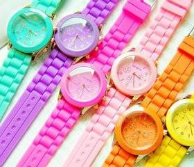 Fluorescent Candy Watches