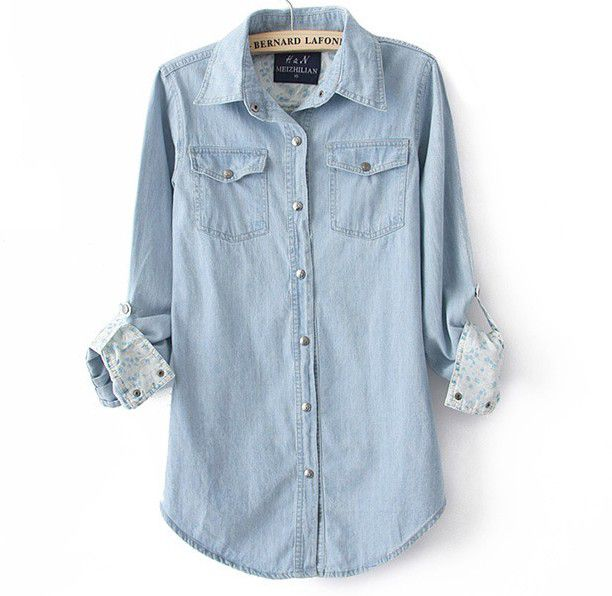 blue button up shirt womens | Gommap Blog