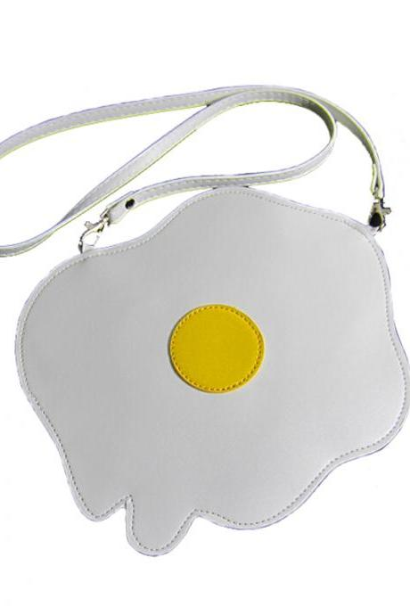 Egg handbag shoulder bag