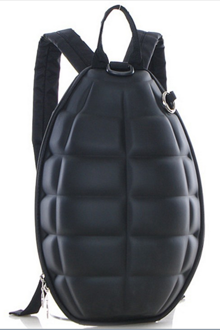 Cool Grenade backpack,Hand grenade backpack