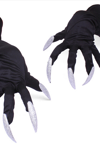 cool hollowen cosplay gloves