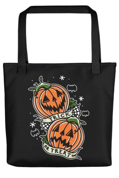 TRICK OR TREAT' Tote bag