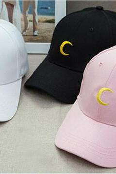 Harajuku Sailor Moon embroidered baseball cap hat