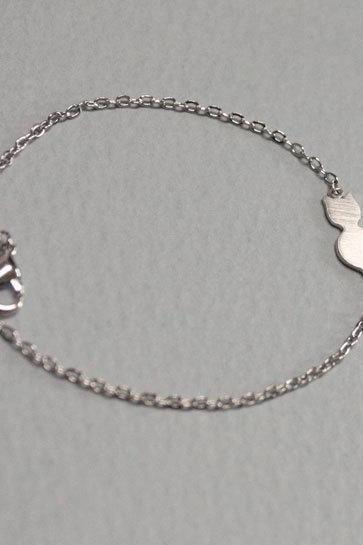 Dainty Cat Bracelet Everyday Jewelry Delicate Minimal Jewelry