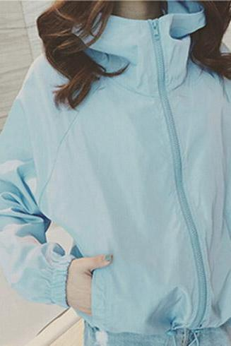 2016 New spring Pastel colors spring windbreaker