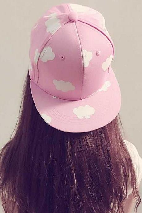 2016 new fashion style women Harajuku new clouds hat baseball cap