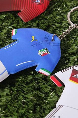 Euro 2016 souvenir sponge Kit key chain