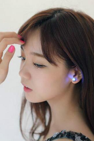LED Stars shine stud earrings