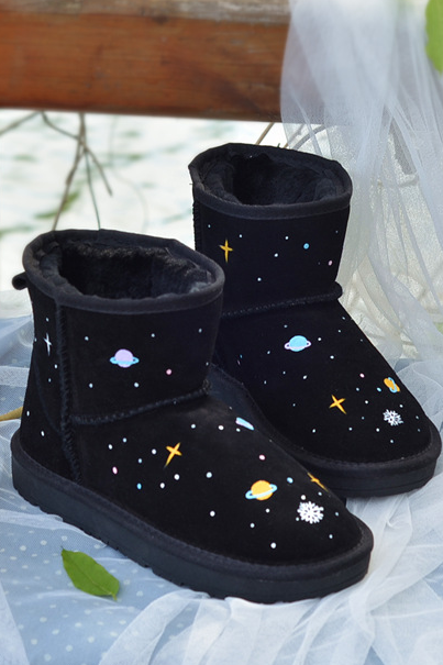 Free shipping Planet Snow Boots