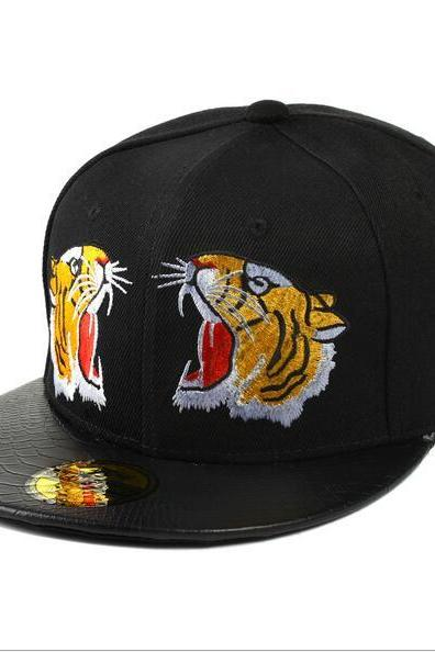 Free shipping tiger embroidery baseball cap hat#YYL-33