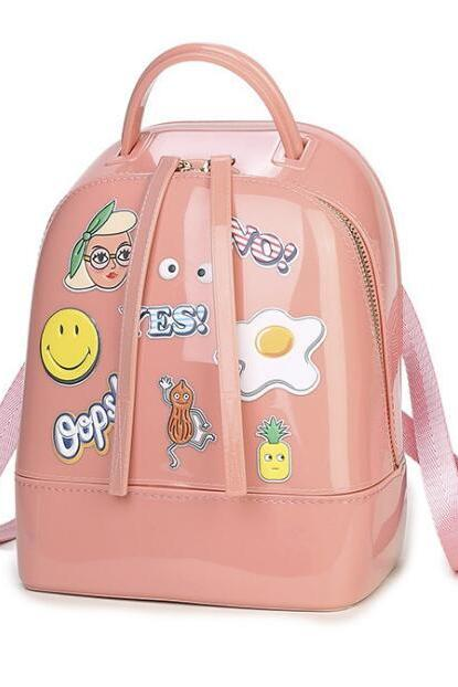Kawaii Cartoon Jelly Mini Backpack