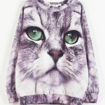 New Winter spring 2014 Harajuku Meow Sweater
