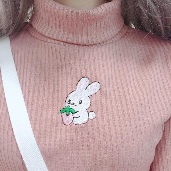 LONG SLEEVE BUNNY sweater