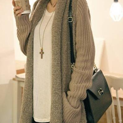 Hot sale Sewing Knitting Cardigan Sweater for women