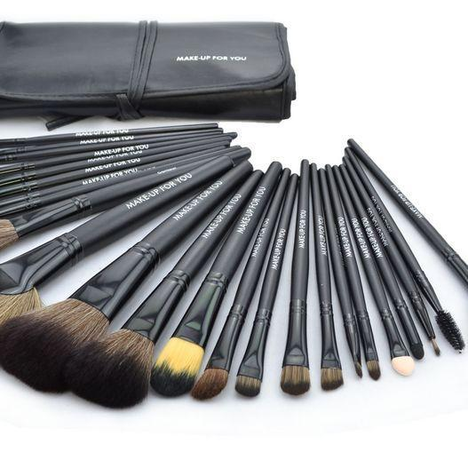 High Quality 24 Pcs/Set Makeup Brush Cosmetic Set Kit Packed In