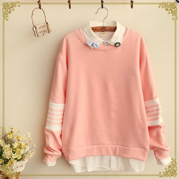 2015 New fashion sale Retro Pastel Color Sweater