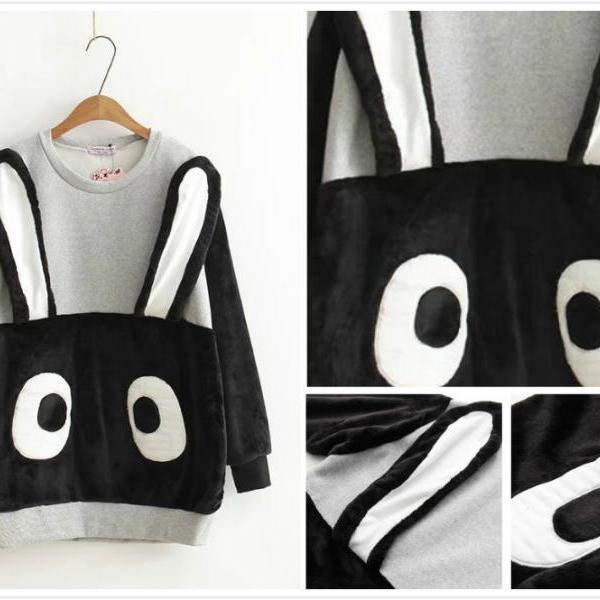 Free shipping cute cartoon sweater #448
